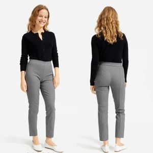 Everlane | Houndstooth Side Zip Work Pant Trouser